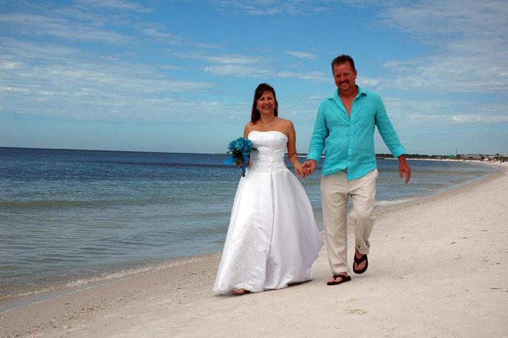 Mexico Beach Florida Wedding