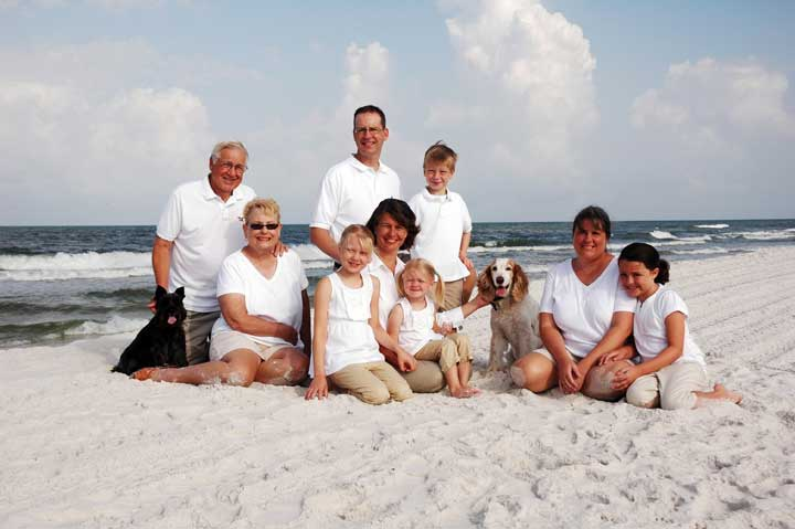 St George Island Family Beach Portraits