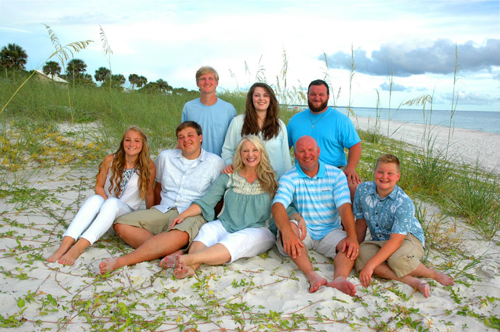 Mexico Beach Florida Family Portraits