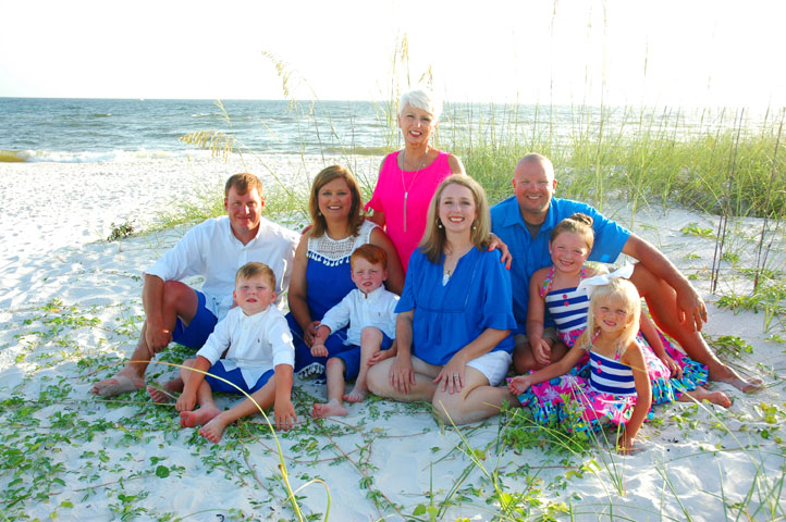 Mexico Beach Florida Family Pictures 1