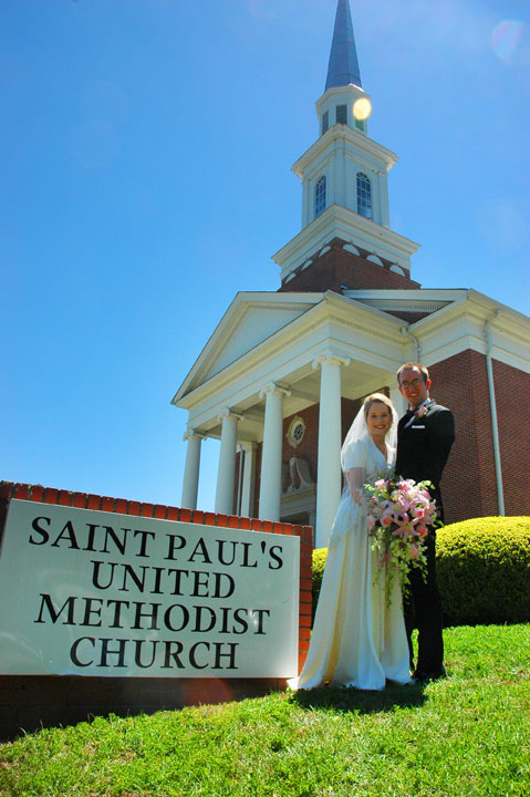 Saint Paul's United Methodist Church Tallahassee Wedding Photographer 3