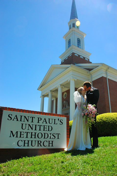 Saint Paul's United Methodist Church Tallahassee Wedding Photographer 2