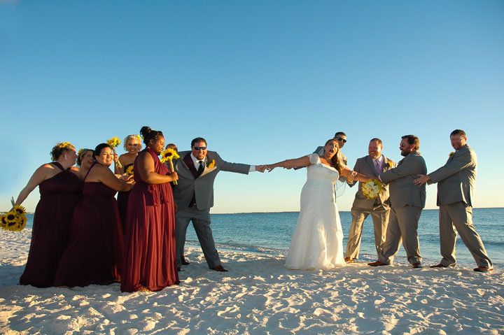 Mexico Beach Wedding Photographer 13