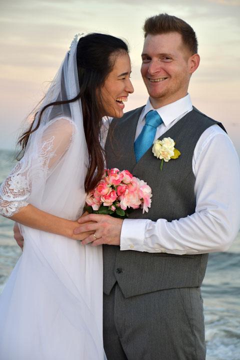 St George Island Professional Wedding Portraits