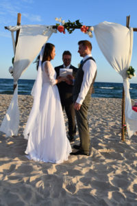 St George Island Wedding Ceremony