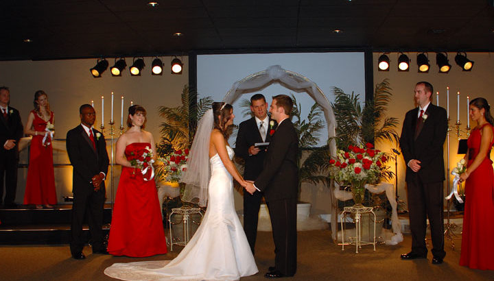 Tallahassee Wedding Ceremony at Every Nation Church