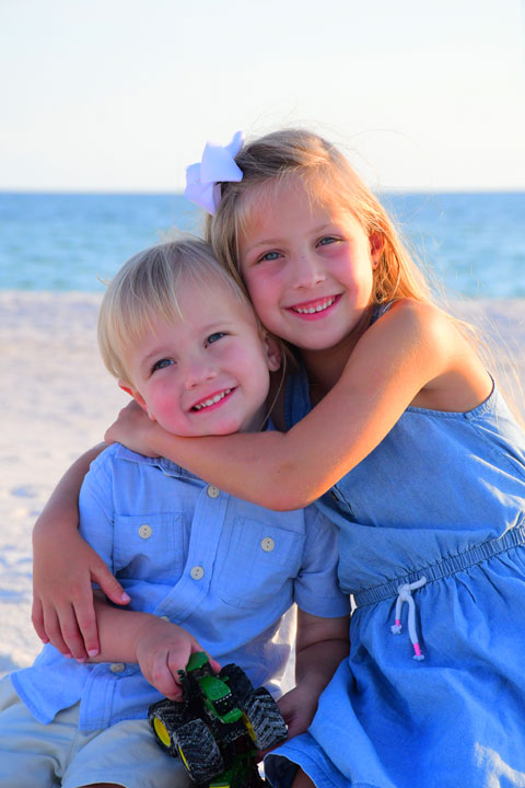 Cape San Blas Family Beach Portraits