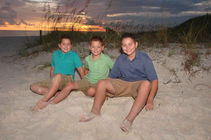 family photography Panama City Beach