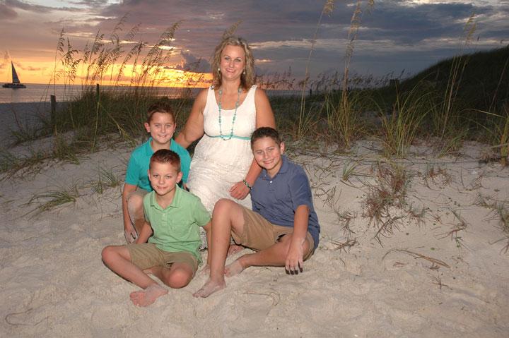 Panama City Beach family Fl