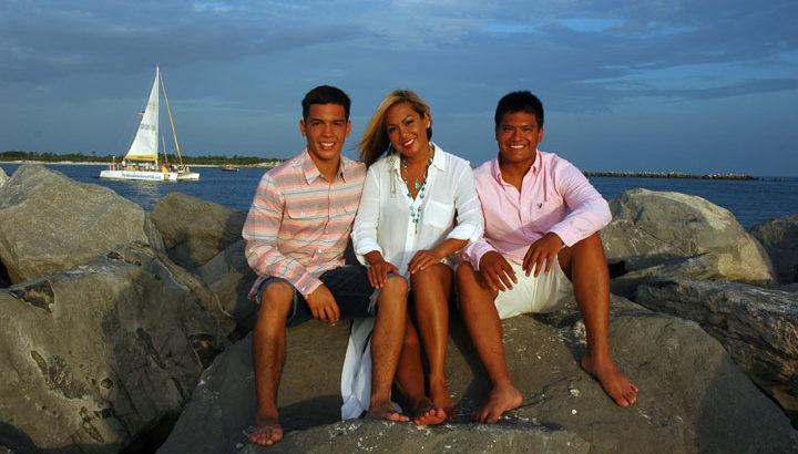 Panama City Beach Family Photo
