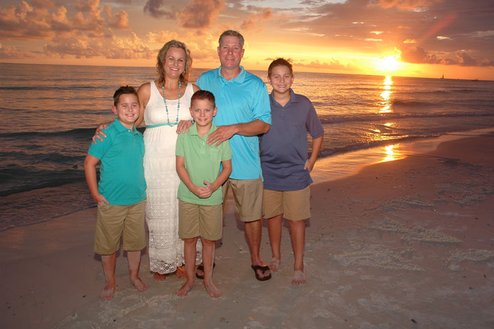 Panama City Beach family pictures