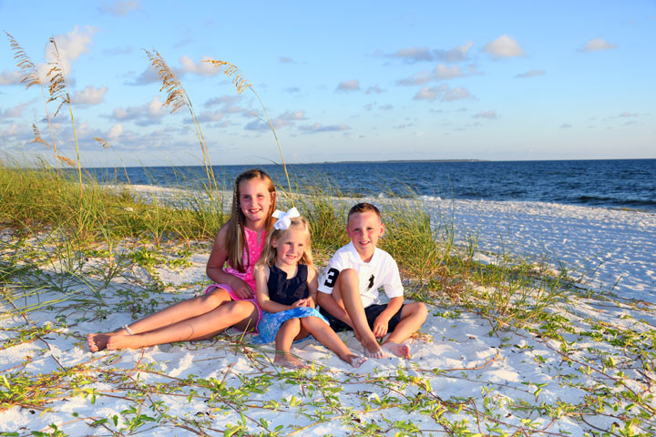 Panama City Beach Family Portrait