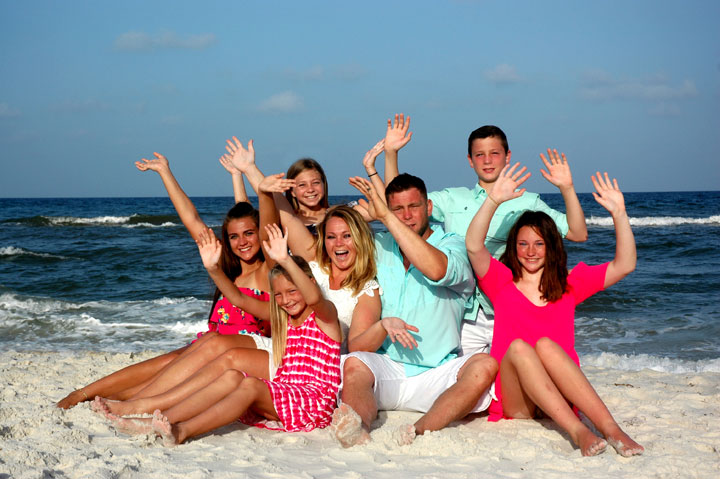 Panama City Beach Family Portraits