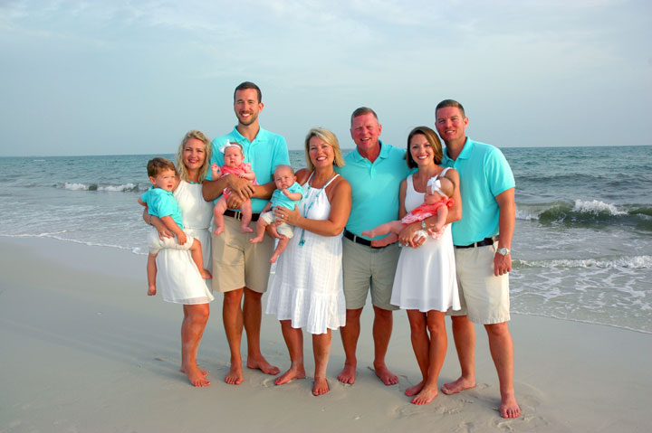 Port St Joe Family Portrait
