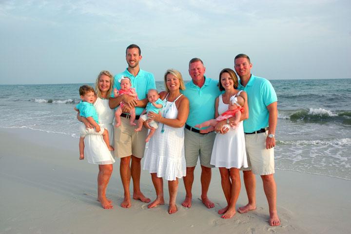 Port St Joe Family Portrait