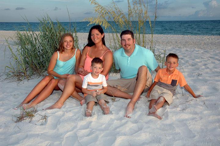 Professional Panama City Beach Family Portraits