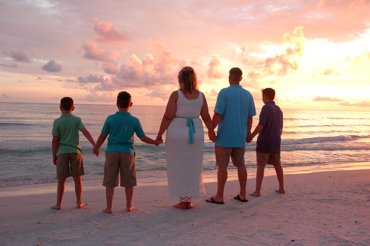 family pictures in Panama City Beach