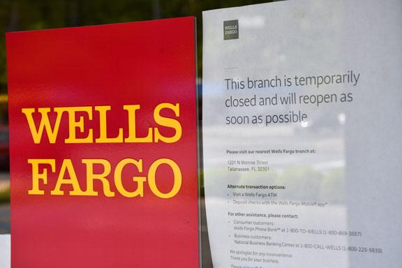 Wells Fargo Tallahassee Coronavirus