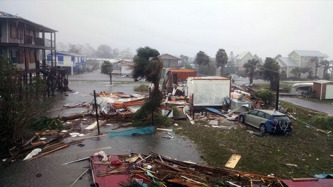 Hurricane Michael Mexico Beach 05