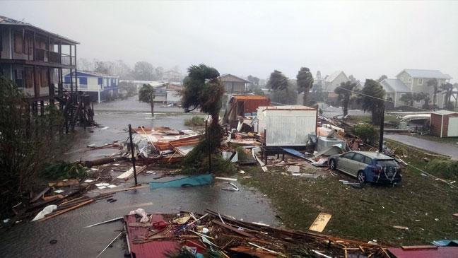 Hurricane Michael Mexico Beach 05