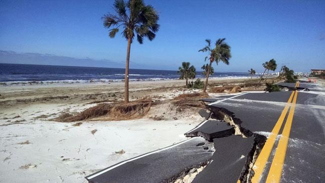 Hurricane Michael Mexico Beach 14