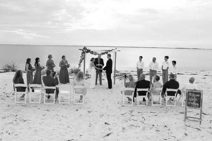 Panama City Beach destination wedding