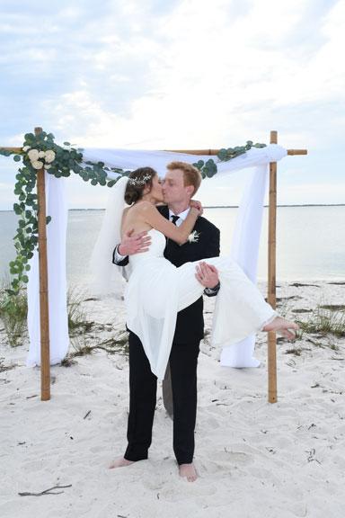 wedding photographer in Panama City Beach