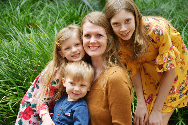 Family photos in Panama City Florida