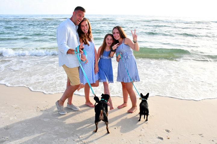 Family photographers in Panama City Beach